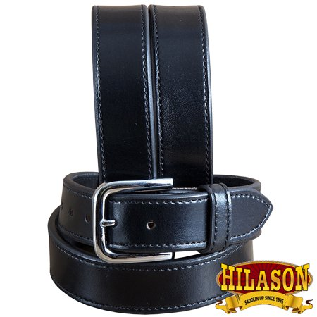 """36"""" HEAVY DUTY DOUBLE LAYER STITCHED LEATHER CONCEALED CARRY GUN HOLSTER BELT"""
