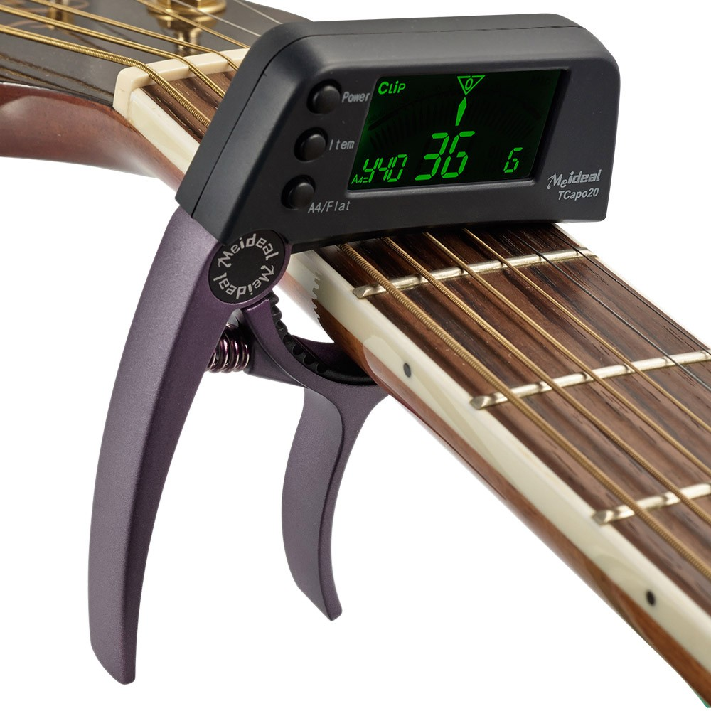 ammoon Meideal TCapo20 Quick Change Key Capo Tuner Alloy Material for Acoustic Electric... by