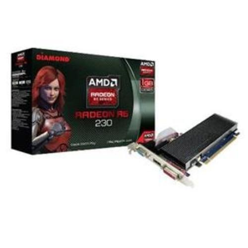 Diamond Radeon R5 230 Graphic Card - 625 Mhz Core - 1 Gb Ddr3 Sdram - Pci Express 3.0 X16 - Full-height - 1334 Mhz Memory Clock - 2560 X 1600 - Crossfire - Directx 11.0, Opengl 4.1 - Hdmi (r5230d31g)
