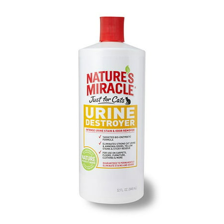 Nature's Miracle Just For Cats Urine Destroyer Formula, 32 Ounce