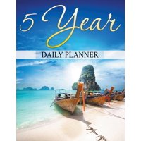 5 Year Daily Planner (Paperback)