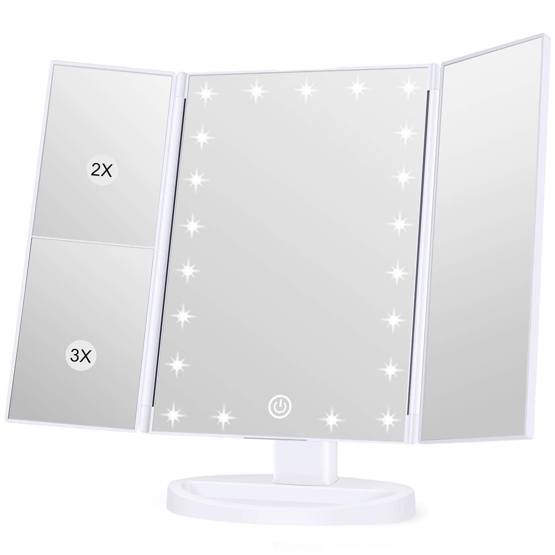 KOOLORBS Makeup 21 Led Vanity Mirror with Lights, 1x 2x 3x