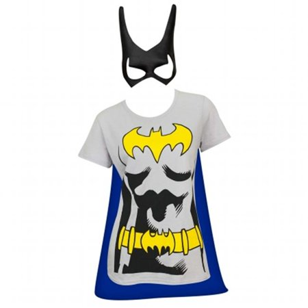 Womens Cape & Mask Costume Tee Shirt, Extra Large](Costume Slim)