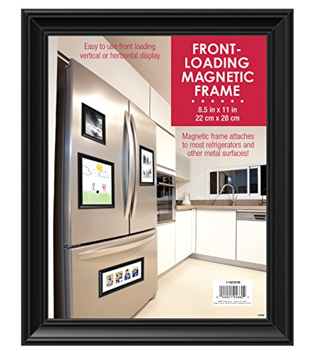 Mcs Front Loading Magnetic Picture Frame For Refrigerator 85x11