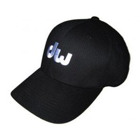 Drum Workshop PR10HAT04SM Logo Hat Black, 6 0.75 - 7.25 in. - Small & Medium