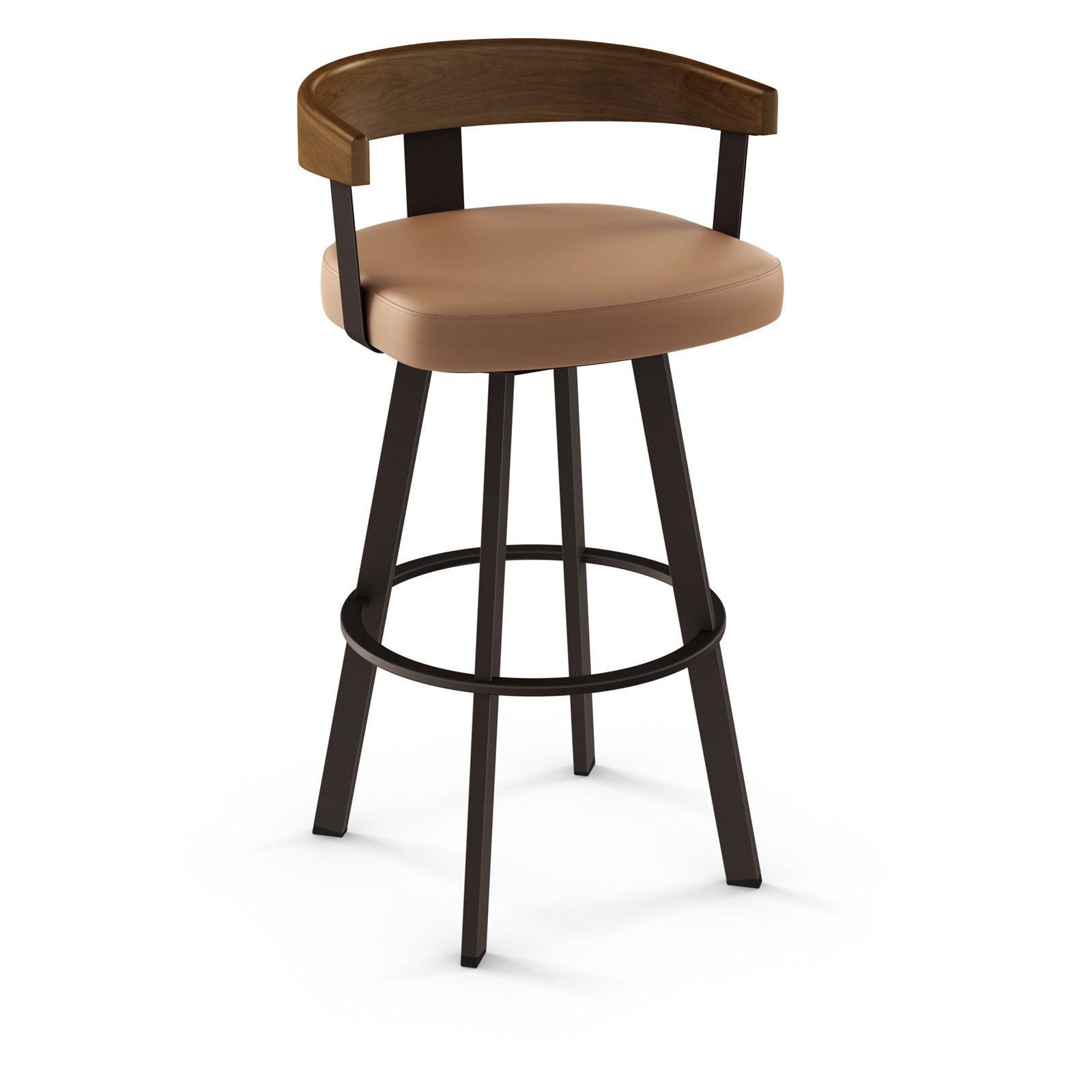 Fantastic Amisco Lars 29 5 Low Back Bar Stool Andrewgaddart Wooden Chair Designs For Living Room Andrewgaddartcom
