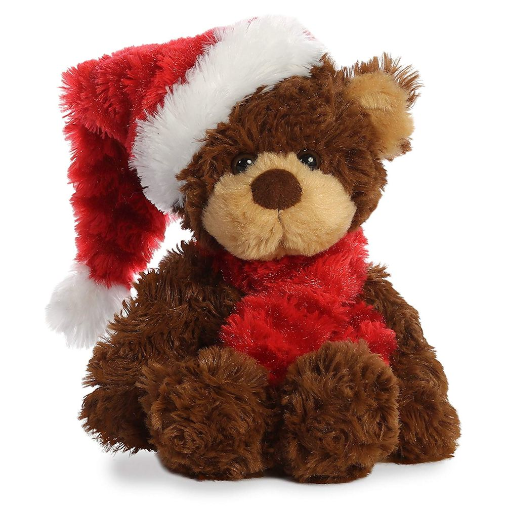 Aurora 99015 Bear with Scarf 10 inch Stuffed Animal