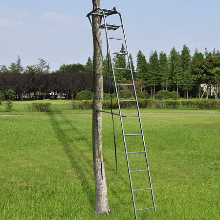 15 Deluxe Hunting Tree Stand Ladder Stand W Safety