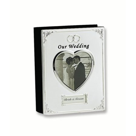 - Silver Plated Our Wedding Holds 40 4x6 Photos Photo Album Frame Gifts For Women For Her