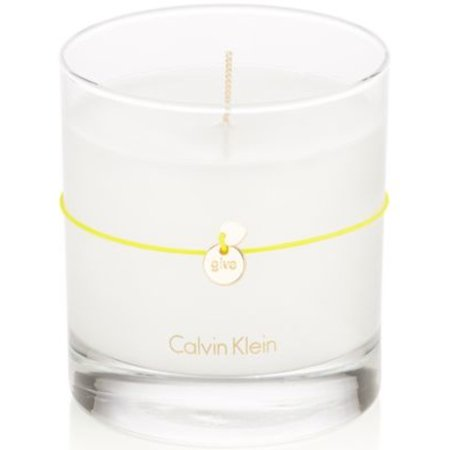 Calvin Klein Scented Jar Candle, Citrus Leaves, 7.5 Oz