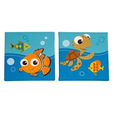 Disney Finding Nemo Wall - Disney Nemo 2 Piece Wall Decor Set