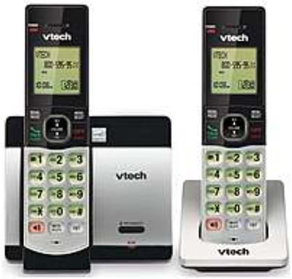VTech CS5119-2 DECT 6.0 Expandable 2-Handset Cordless Phone with (Refurbished)