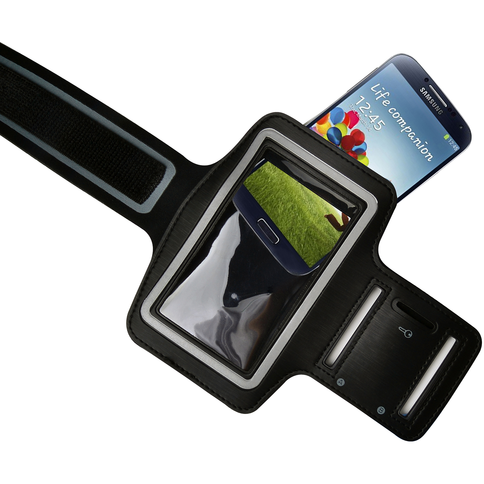 Avantree KSAM-001 Sports Armband for Smartphones, Black
