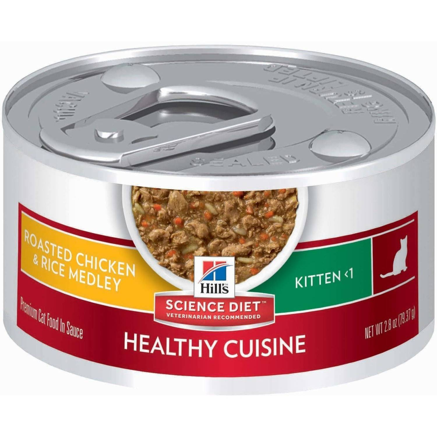 Hill s Science Diet Kitten Healthy Cuisine Roasted Chicken & Rice