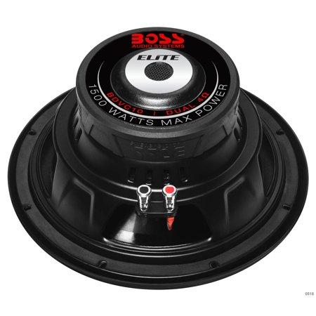 Boss Elite BDVC10 10 in. 1500W Dual Voice Coil Car Subwoofer - image 3 de 4