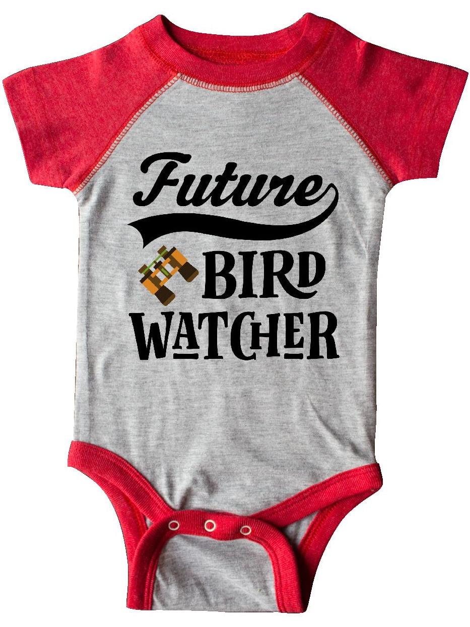 inktastic Bird Watcher I Love Bird Watching Baby T-Shirt