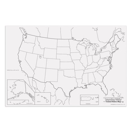 Pacon Corporation Giant Us Map
