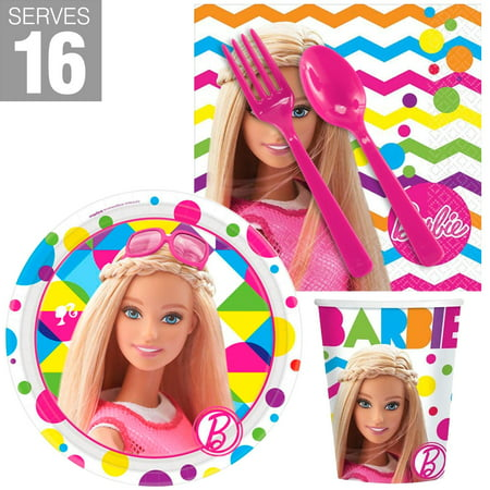 Barbie Snack Pack For 16 (Barbie Halloween Party Games)