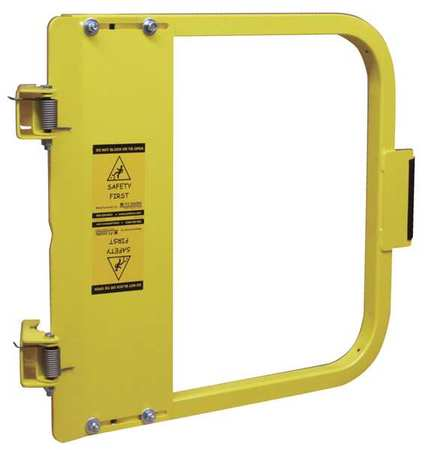 PS DOORS LSG-30-PCY Safety Gate, 28-3 4 to 32-1 2 In, Steel by PS DOORS