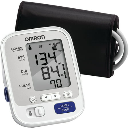 Omron 5 Series Upper Arm Blood Pressure Monitor with -