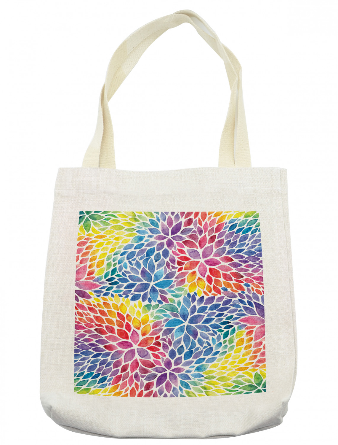 Animal Tote Bag with Multicolor Cotton Shoulder Straps I For Women and Men Beach Shopping Laptop Market Bag  I Foldable Reusable and Stylish