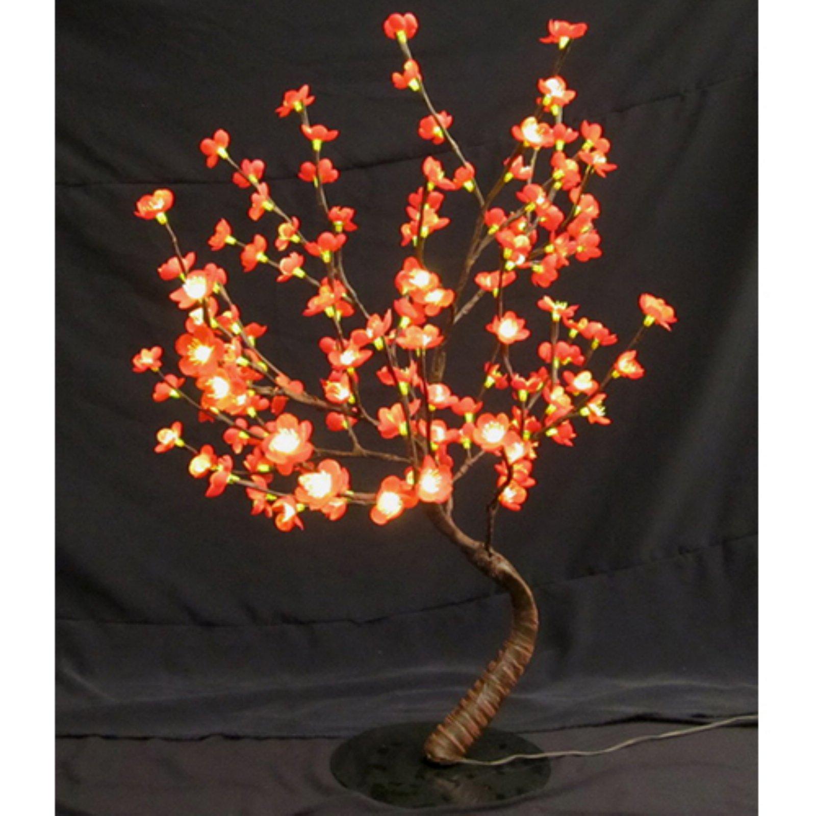 RED BONSAI TREE - 128 LEDS