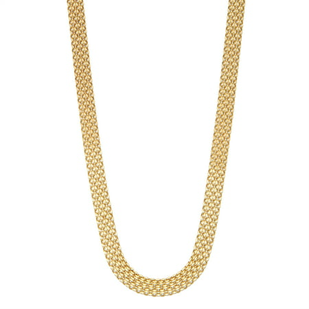 - 14k yellow gold 18