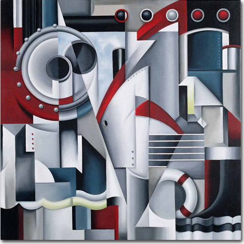 "Trademark Fine Art ""Maiden Voyage, 2003"" Canvas Art by Catherine Abel"