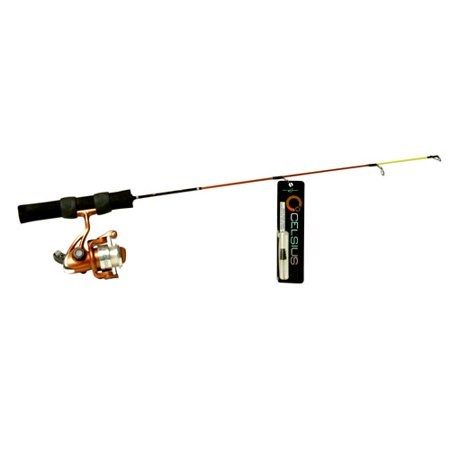 South bend celsius 24 ice fishing combo for Fishing pole walmart