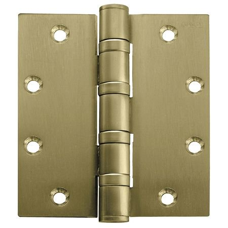 Stanley Brass Sundial (STANLEY FBB168 4 5X4 5 HW DOOR HINGE   3  STL 2