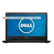 """dell black 14"""" inspiron 14 laptop pc with intel celeron n3050 processor, 2gb memory, 32gb emmc and windows 10 home"""