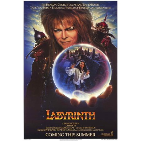 Labyrinth POSTER Movie C (27x40) - Labyrinthe Halloween
