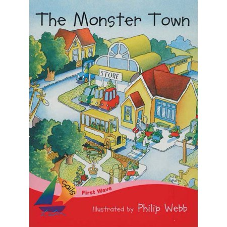 Rigby Sails First Wave : Student Reader Monster Town, the - Town Of Wake Forest Halloween