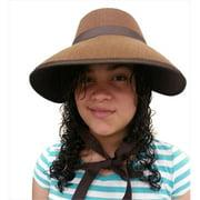 CoverYourHair am822 Brown Felt Bonnet