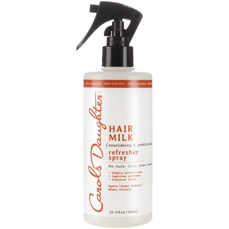Carol's Daughter Hair Milk Refresher Spray For Curls, Coils, Kinks and Waves, 10 fl (Best Way To Create Waves In Hair)