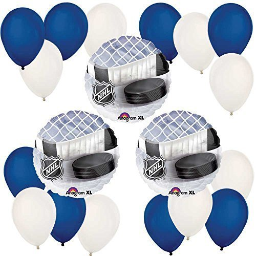 Hockey - Baby Shower or Birthday Party Balloon Kit
