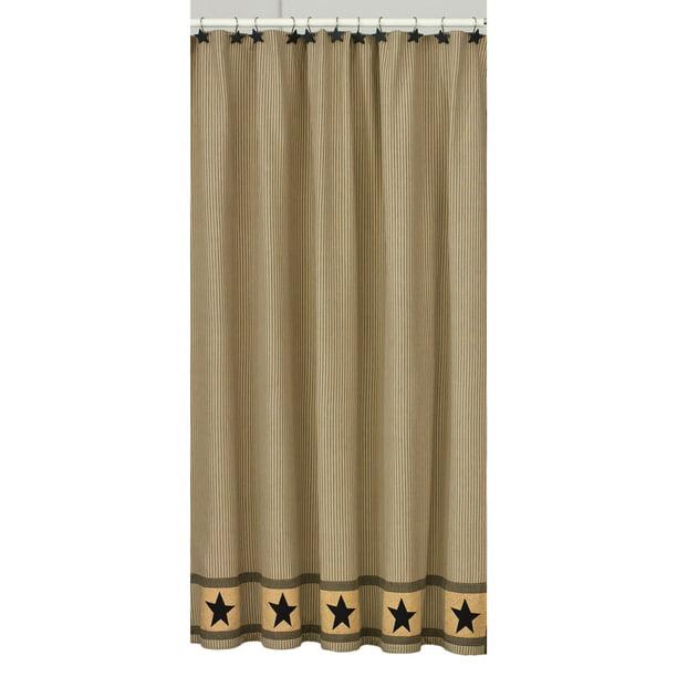 Primitive Star Shower Curtain Walmart Com Walmart Com