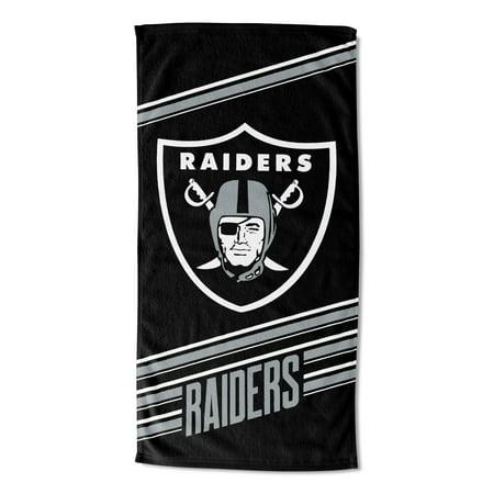 NFL Oakland Raiders Beach Towel, 1 Each