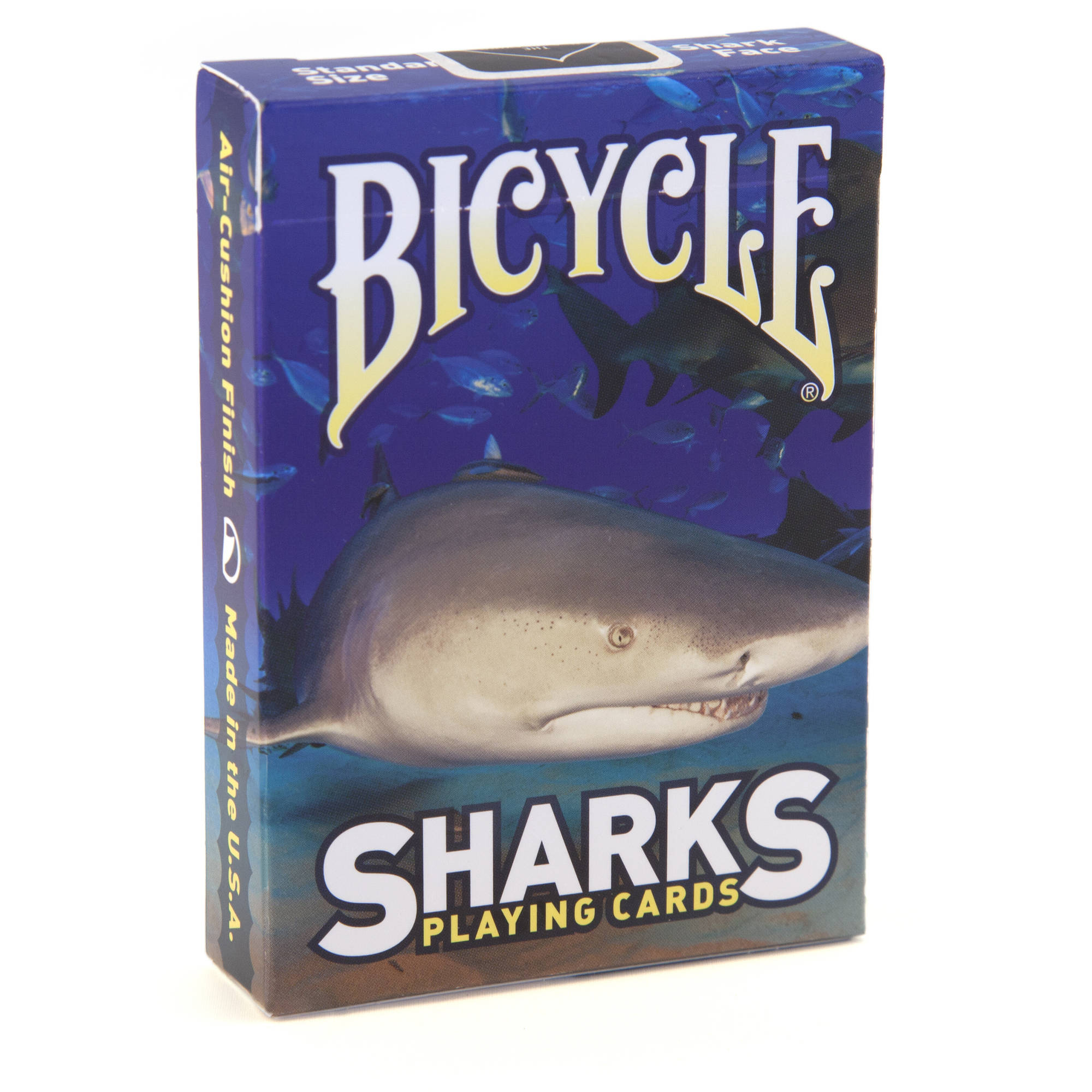 Bicycle Sharks Blue Playing Cards