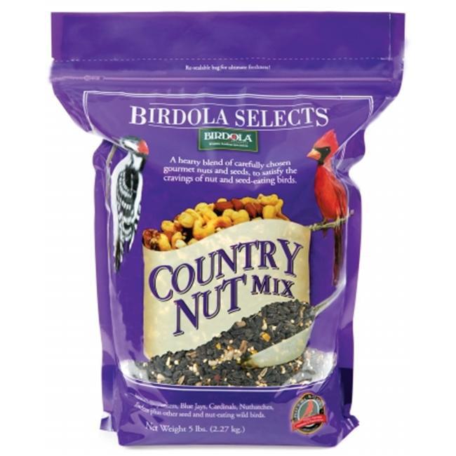 Birdola  Country Nut Bird Food  54582 - Pack of 6