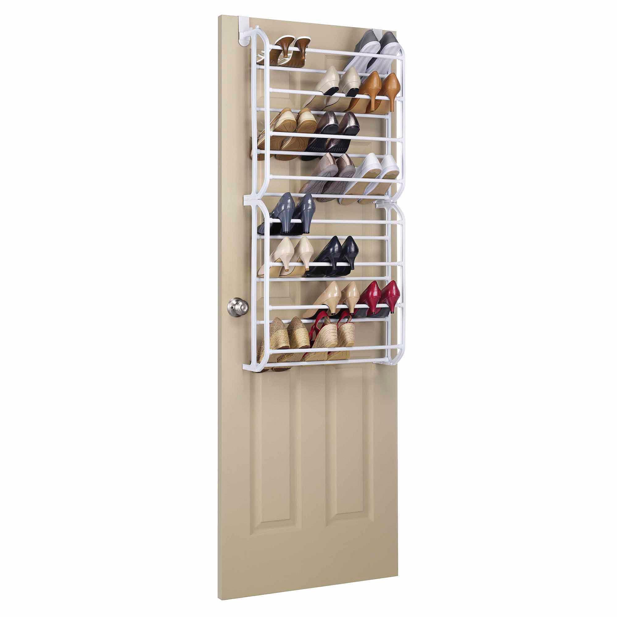 Whitmor 24-Pair Over-the-Door Shoe Rack by Whitmor Inc
