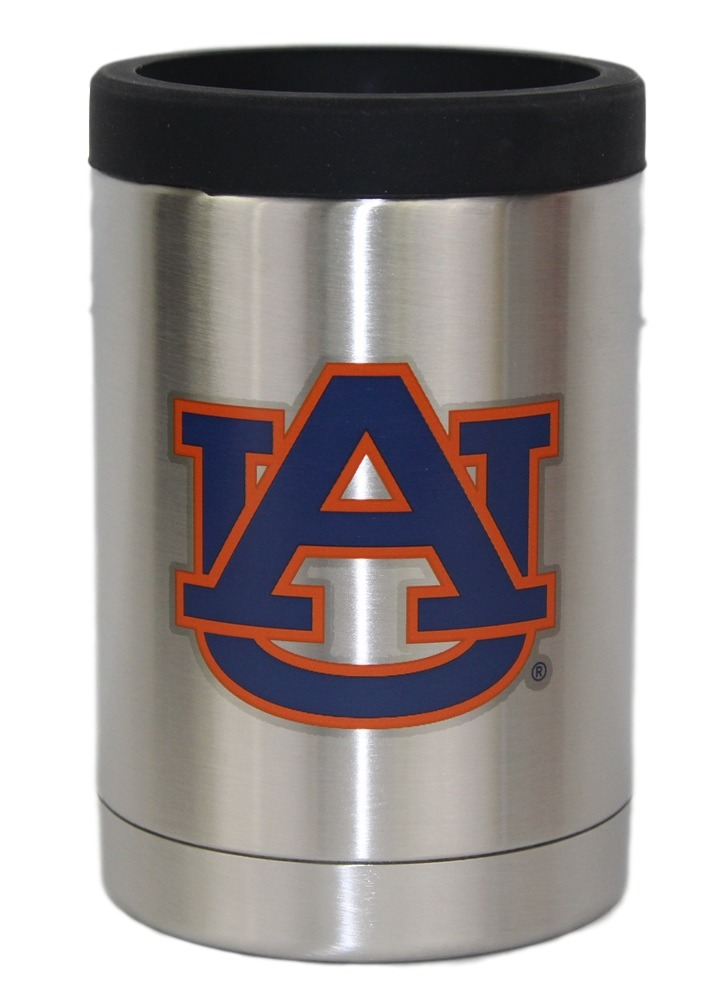 Auburn Tigers NCAA Stainless Steel Insulated 12oz Jacket with Seal by Gametime Sidekicks