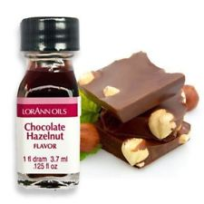 Lorann Oils Chocolate Hazelnut 1 Dram Super Strength Flavor Extract Candy Baking Includes 1 Dram Dropper And Recipe