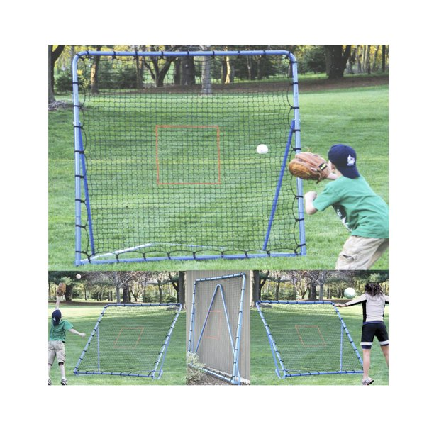 EZ Goal Baseball Monster 6' x 6' Rocket Back Rebounder Throwback