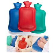 1 Rubber Heat Water Bag Hot Cold Warmer Relaxing Bottle Therapy Winter Thick