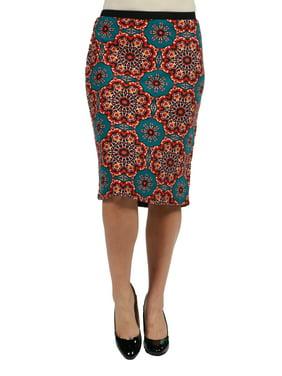 51e09f1d19 Product Image 24/7 Comfort Apparel Dallas Plus Size Skirt