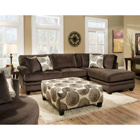 Chelsea Home Rayna Sectional Sofa