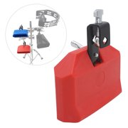 Cow Bell Noise Maker with Mallet Cowbell for Drum Set Percussion Instrument Music Education Tool for Cheering Alerting Sporting Events