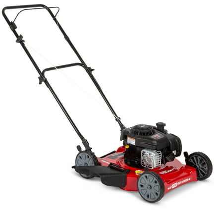 "Hyper Tough 20"" Side Discharge Push Mower with Briggs and Stratton Engine"