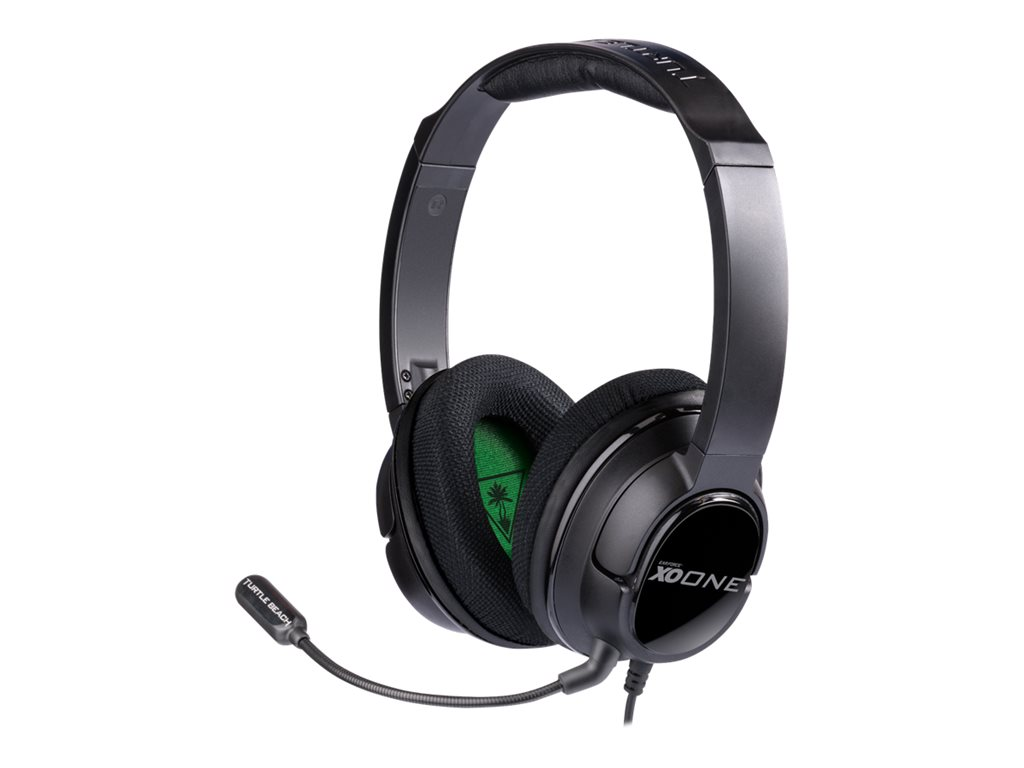 Turtle Beach Ear Force XO One - Headset - full size - for Xbox One on 3-pin military connector wiring diagram, microphone preamp diagrams, 3-pin xlr microphones, 3-pin xlr cable, 3-pin xlr wiring-diagram, dmx diagrams,